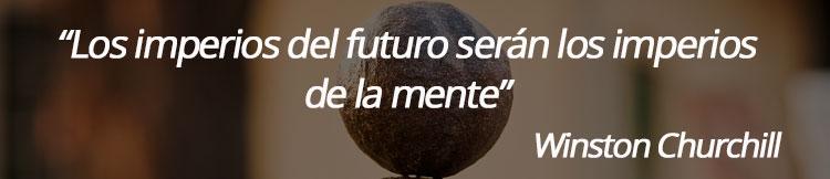 Los imperios del futuro serán los imperios de la mente
