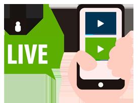 Facebook live en el sector salud